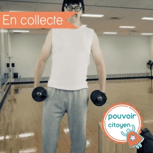 photo profil en collecte campagne solidaire CLUBPARPEN